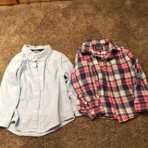 Toddler boys dress shirts